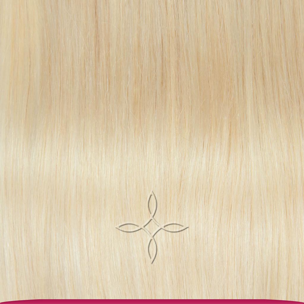 Натуральные Азиатские Волосы на Заколках 38 см 70 грамм, Блонд №60