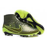 Бутсы футбольные профессиональные Nike Magista Obra FG, фото 3