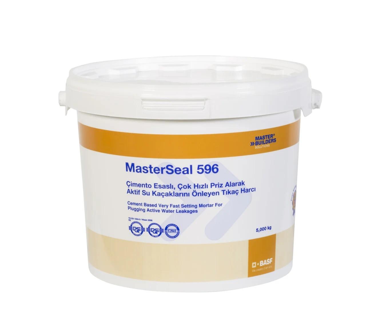 MasterSeal 596 Гидропломба 30сек, быстротвердеющий раствор для остановки активной течи воды
