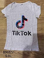 Футболка женская Tik Tok Glo-story , S-XL рр. Артикул: WPO-B0652V