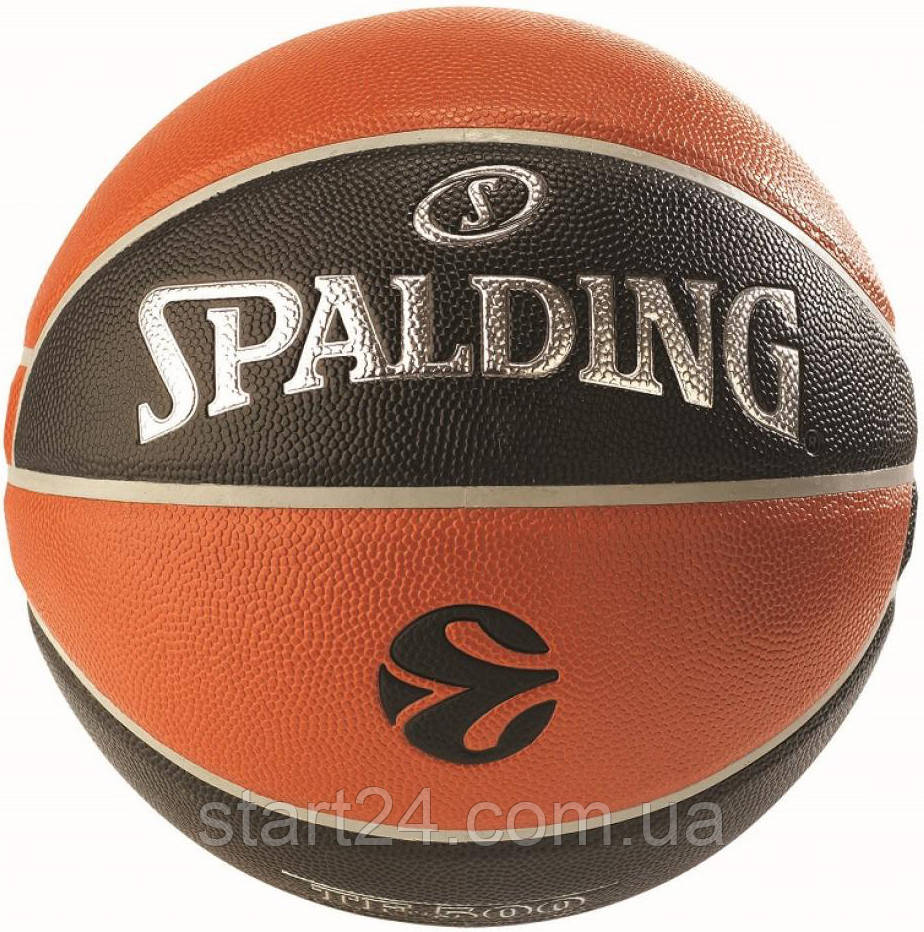Мяч баскетбольный Spalding Euroleague TF-500 IN/OUT Size 7