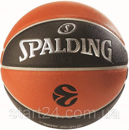 Мяч баскетбольный Spalding Euroleague TF-500 IN/OUT Size 7, фото 2