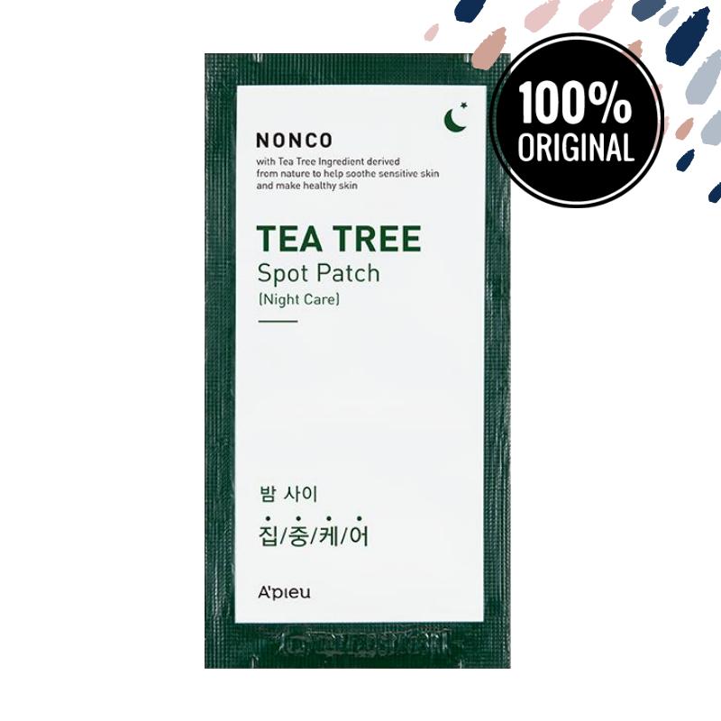 Патчи против прыщей с маслом чайного дерева A'PIEU Nonco Tea Tree Spot Patch Set