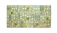 Пластикова листова стінова панель ПВХ Grace Мрамор з золотом 0,3мм 955*480мм