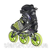 Роликовые коньки Nils Extreme NA1206 Size 39 Black/Green, фото 3