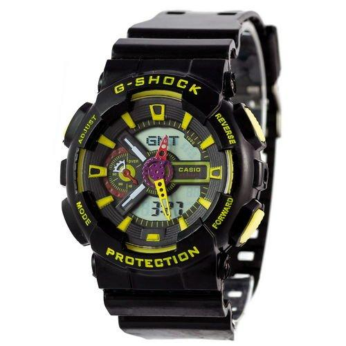 Casio G-Shock GA-110 Black-Yellow