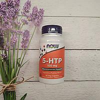 Now Foods 5-HTP 60 veg caps 100 mg, 5-штп Нау фудс