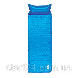 Самонадувающийся коврик Nils Camp NC1006 186 x 65 x 2.5 см Blue