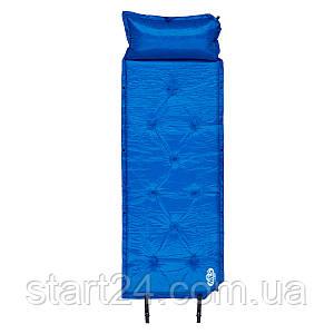 Самонадувающийся коврик Nils Camp NC4348 188 x 67.5 x 3 см Blue