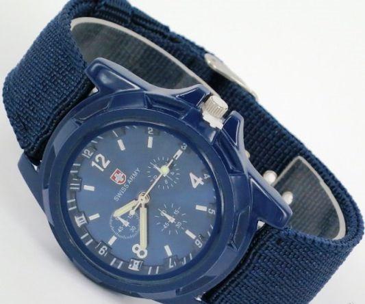 Мужские часы Swiss Army blue