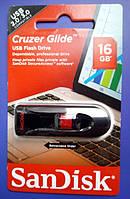 Флешка SanDisk Cruzer Glide 16Gb Black\Red  USB 3.0