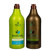 Нанопластика Natureza Natural Therapy Escova de biotina Набор 1000 мл