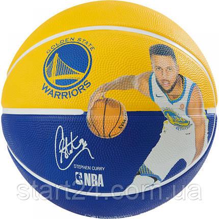 М'яч баскетбольний Spalding NBA Player Ball Stephen Curry Size 7, фото 2