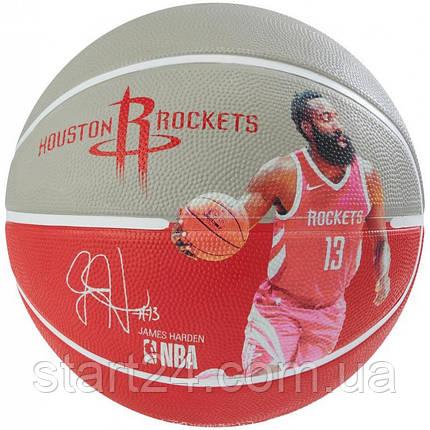 М'яч баскетбольний Spalding NBA Player Ball James Harden Size 7, фото 2