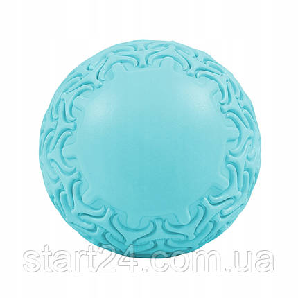Масажний м'яч SportVida Massage Ball 13 см SV-HK0234 Sky Blue, фото 2
