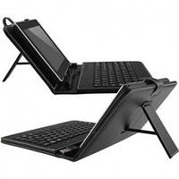 Чехол с клавиатурой для планшета 7 дюймов Black (micro Usb)