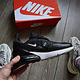 Кроссовки Nike Air Max 270 Black\White, фото 3