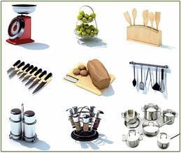 Кухонные предметы и принадлежности