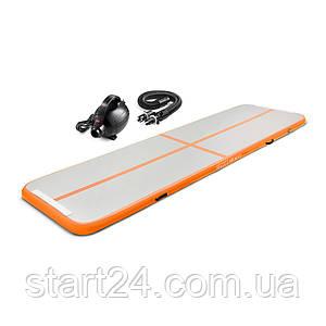 Мат гимнастический надувной 4FIZJO Air Track Mat 500 x 100 x 10 см 4FJ0095