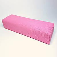Подлокотник для маникюра с узором нежно- розовый
