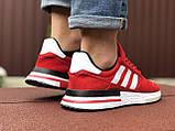 Мужские кроссовки Adidas ZX 500 Rm,красные, фото 4