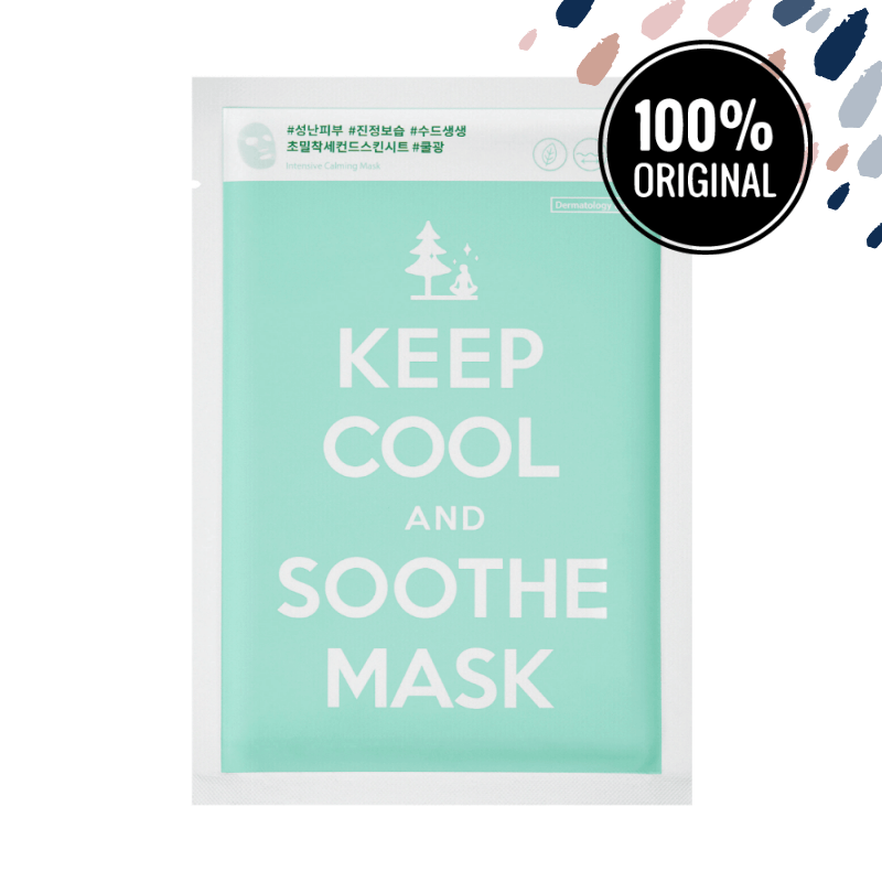Інтенсивно заспокійлива тканинна маска KEEP COOL Soothe Intensive Calming Mask