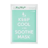 Інтенсивно заспокійлива тканинна маска KEEP COOL Soothe Intensive Calming Mask, фото 2