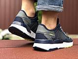 Мужские кроссовки Adidas Nite Jogger Boost,темно синие, фото 3