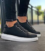 Чоловічі кросівки Chekich CH253 Black/White, фото 1