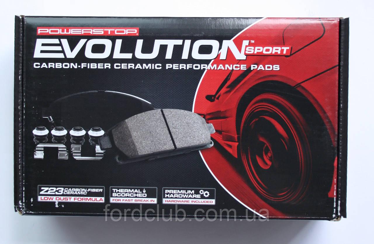 Задние колодки Ford Edge USA Power Stop Z23 Evolution Sport Carbon Fiber-Ceramic для всех комплектаций