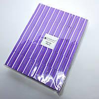 Бафы для шлифовки ногтей Starlet Professional 100/180 фиолетовые 50 шт
