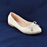 .Женские Балетки Белые Перламутр Мокасины Туфли (размеры: 37), фото 6