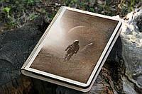 Смарт Скетчбук Вдали от земли (блокнот в деревяной обложке)