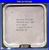 Процессор Intel Pentium Dual-Core E5200 2.50GHz/2M/800, s775, tray