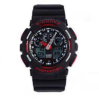 Неубиваемые спортивные наручные часы Casio G-shock GA-100 разных цветов, фото 1