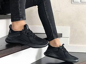 Кросівки жіночі літні сітка базові чорні, фото 3