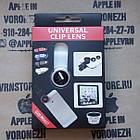 Универсальный набор объективов линз для телефона 3 в 1 Fisheye Macro Wide Фишай, фото 3