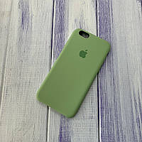 Чехол Silicone Case Apple iPhone 6/6s Green