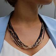 Колье, ожерелья