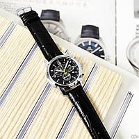 Реплика AAA Tissot мужские кварцевые часы (Чёрные) с хронографом