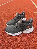 Кроссовки женски Adidas Alphabounce Instinct оранжевый пенка