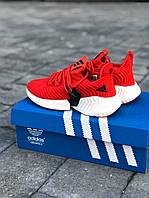 Кроссовки женски Adidas Alphabounce Instinct красный пенка