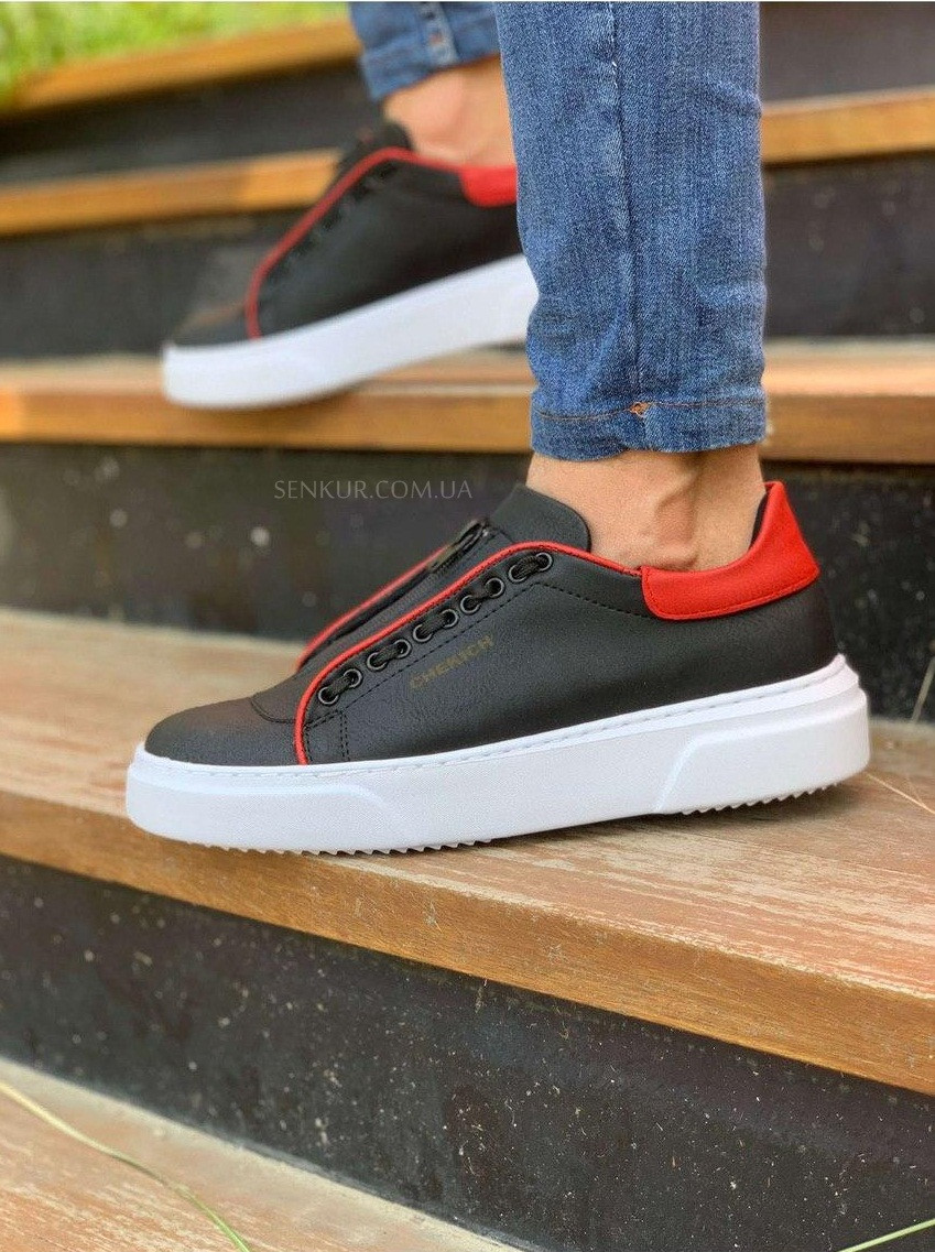 Чоловічі кросівки Chekich CH092 GBT Black / Red