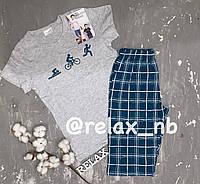 Пижама для мальчика с шортами и футболкой