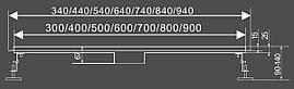 Линейный трап OLIMP 90 CM WET&DRY Fala 75424, фото 3