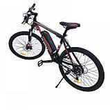 "Электровелосипед литиевая батарея MTB 26"" PAS 350W, фото 3"
