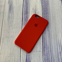 Чехол Silicone Case Apple iPhone 6/6s Red