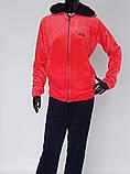 Велюровый женский  спортивный костюм, фото 3