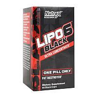 Жиросжигатель  Nutrex Lipo 6 Black Ultra Concentrate - 60 caps.