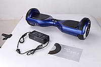 Гироскутер платформа Smart Way U8 (Смартвей) мини сигвей (гироцикл) синий с прорезиненным верхом, фото 1